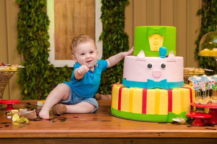 Enzo - Aniversário de 1 Aninho
